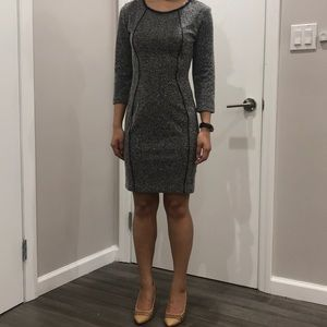 H&M bodycon tweed dress